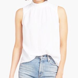 Cloth & Stone for Anthro sleeveless mockneck top